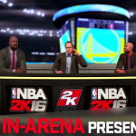 Shaquille O'Neal, Ernie Johnson, and Kenny Smith in NBA 2K16