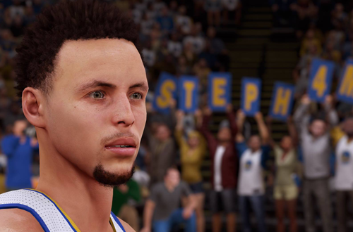Stephen Curry in NBA 2K16
