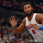 NBA Live 16: Andre Drummond (91 Overall)