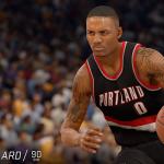 NBA Live 16: Damian Lillard (90 Overall)