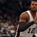 NBA Live 16: LaMarcus Aldridge (94 Overall)