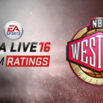 Top 5 Western Conference Teams in NBA Live 16