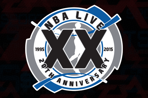 20th Anniversary of NBA Live (NBA Live 97 Background)