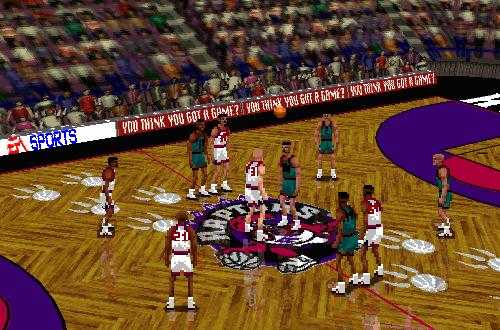 Vancouver Grizzlies & Toronto Raptors in NBA Live 96