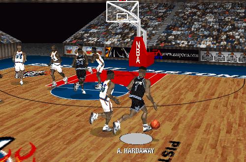 Anfernee Hardaway in NBA Live 97
