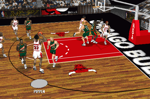 Scottie Pippen in NBA Live 97