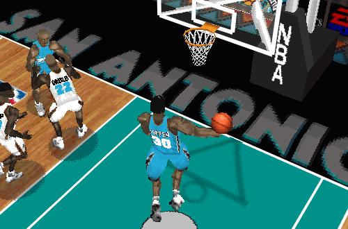 Scottie Pippen in NBA Live 97