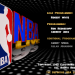 Definitive NBA Live 95 Title Screen
