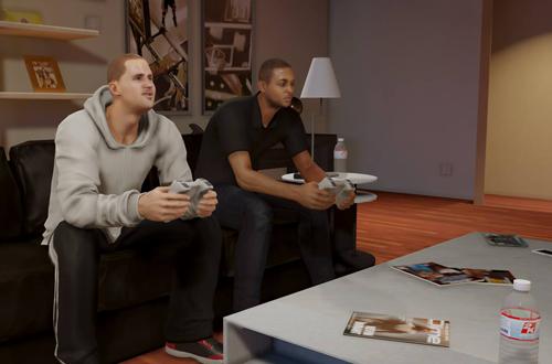 Gaming in NBA 2K14's MyCAREER