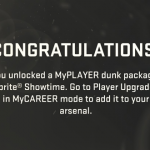 Getting MyPLAYER Dunk Package via Locker Codes in NBA 2K15