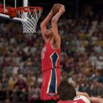 Anthony Davis dunks in NBA 2K16