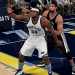 Tim Duncan vs. Zach Randolph in NBA 2K16