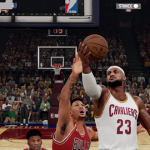 LeBron James vs. Derrick Rose in NBA 2K16