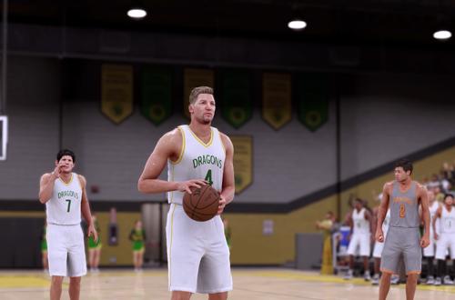 High School game in NBA 2K16 MyCAREER