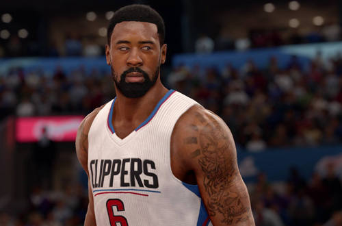 DeAndre Jordan in NBA Live 16