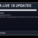 Opening Day Roster Update for NBA Live 16