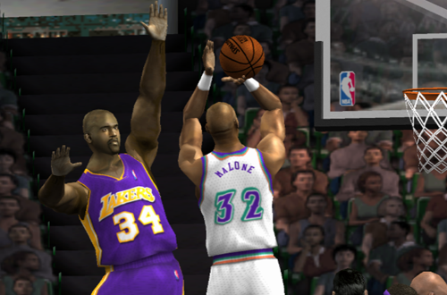 Karl Malone in NBA Live 2002