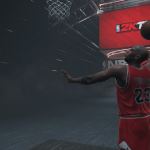 Michael Jordan Menu in NBA 2K16