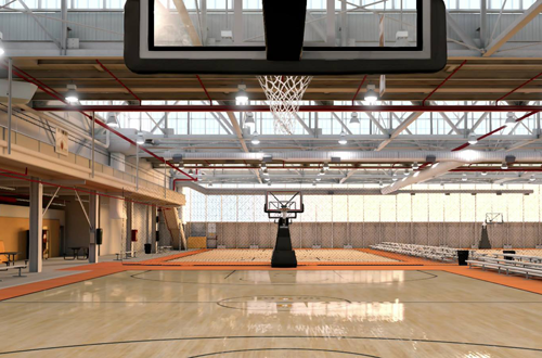 The Hoop Dome in NBA Live 16