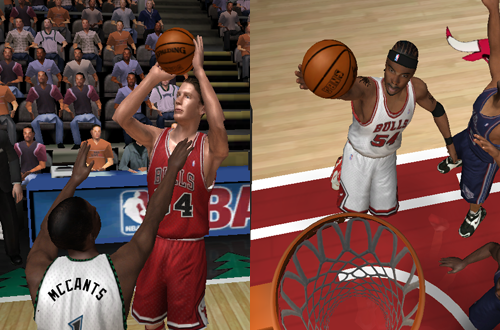 Mike Dunleavy & Chris Wilcox on the Chicago Bulls in NBA Live 06