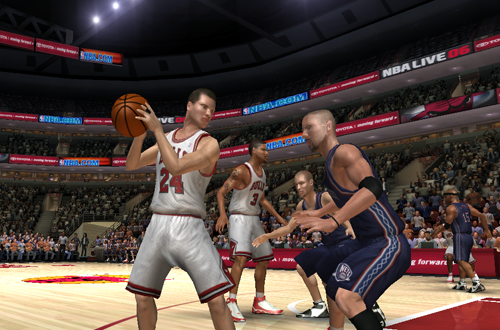 Marty Gartner on the Chicago Bulls in NBA Live 06