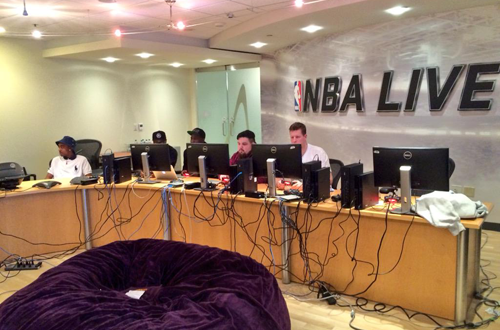NBA Live 16 Community Event in August 2015