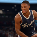 NBA Live 16: Russell Westbrook Christmas Jersey
