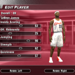 LeBron James' Default Ratings in NBA Live 2004 (Part 2)