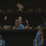 Finals MVP in NBA 2K13's MyCAREER