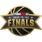 NBA 2K16 Road To The Finals Logo