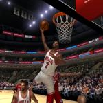 Ben Gordon dunks in NBA Live 06's Dynasty Mode