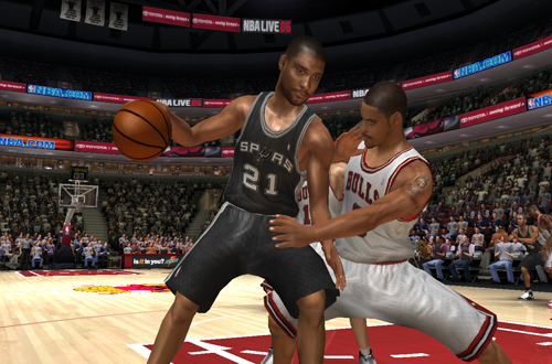 Tim Duncan in NBA Live 06