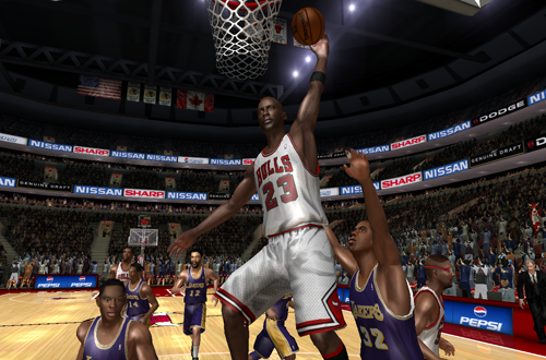 Ultimate Jordan Beta for NBA Live 08 Screenshot