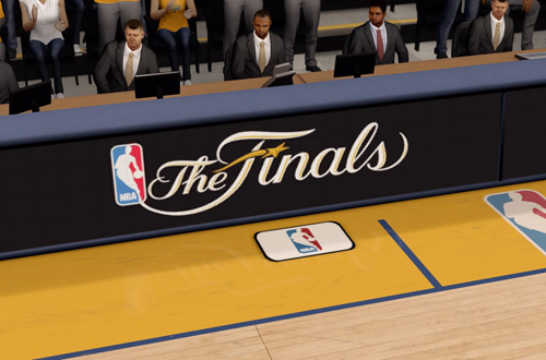 NBA Finals Presentation in NBA Live 16