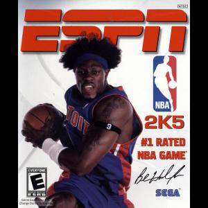 ESPN NBA 2K5 Cover Art