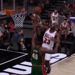 Michael Jordan vs. Shawn Kemp in NBA 2K16
