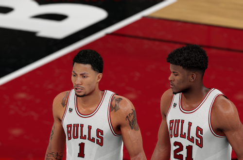 Derrick Rose & Jimmy Butler in NBA 2K16