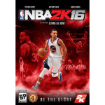 NBA 2K16 Cover Art - Stephen Curry