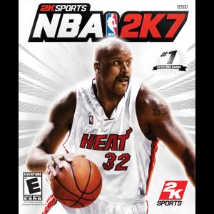 NBA 2K7 Cover Art