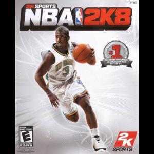 NBA 2K8 Cover Art