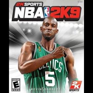 NBA 2K9 Cover Art