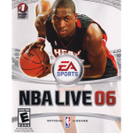 NBA Live 06 Cover Art