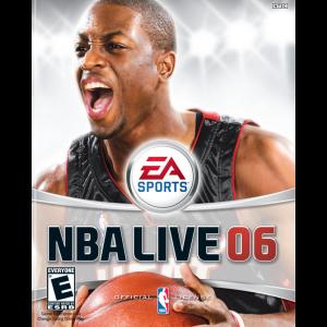 NBA Live 06 Xbox Cover Art - Xbox 360