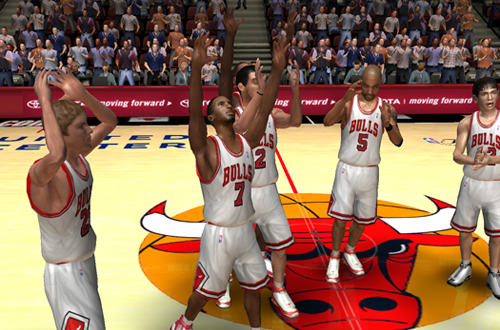 Winning the championship in NBA Live 06