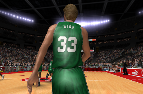 Larry Bird in the Ultimate Jordan Roster for NBA Live 08