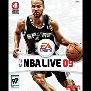 NBA Live 09 Cover Art
