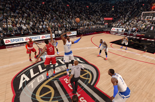 NBA All-Star Content in NBA Live 16
