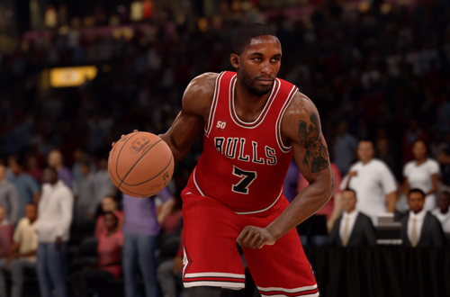 Ben Gordon on the Chicago Bulls in NBA Live 16
