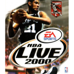 NBA Live 2000 Cover Art