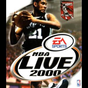 NBA Live 2000 Cover Art